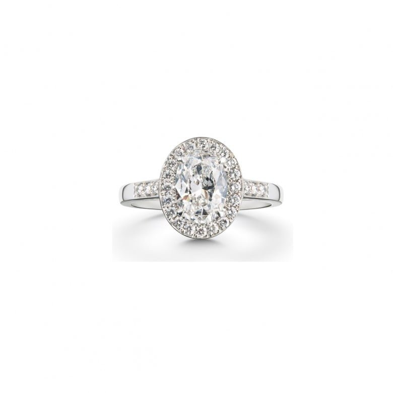 chicago e diamonds halo ring rings gale oval diamond shop