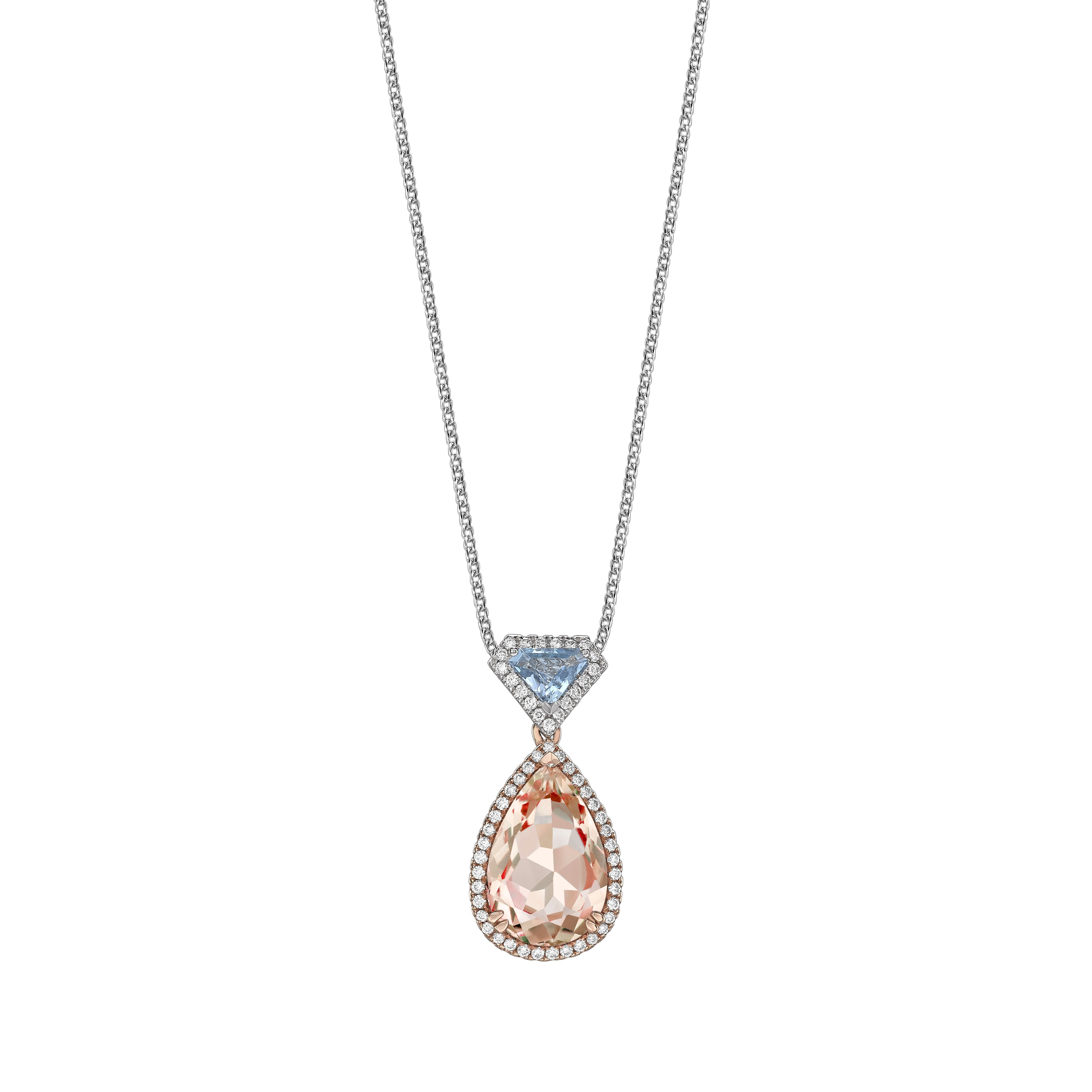 pendant simple dsc jewelers plante elegant products morganite