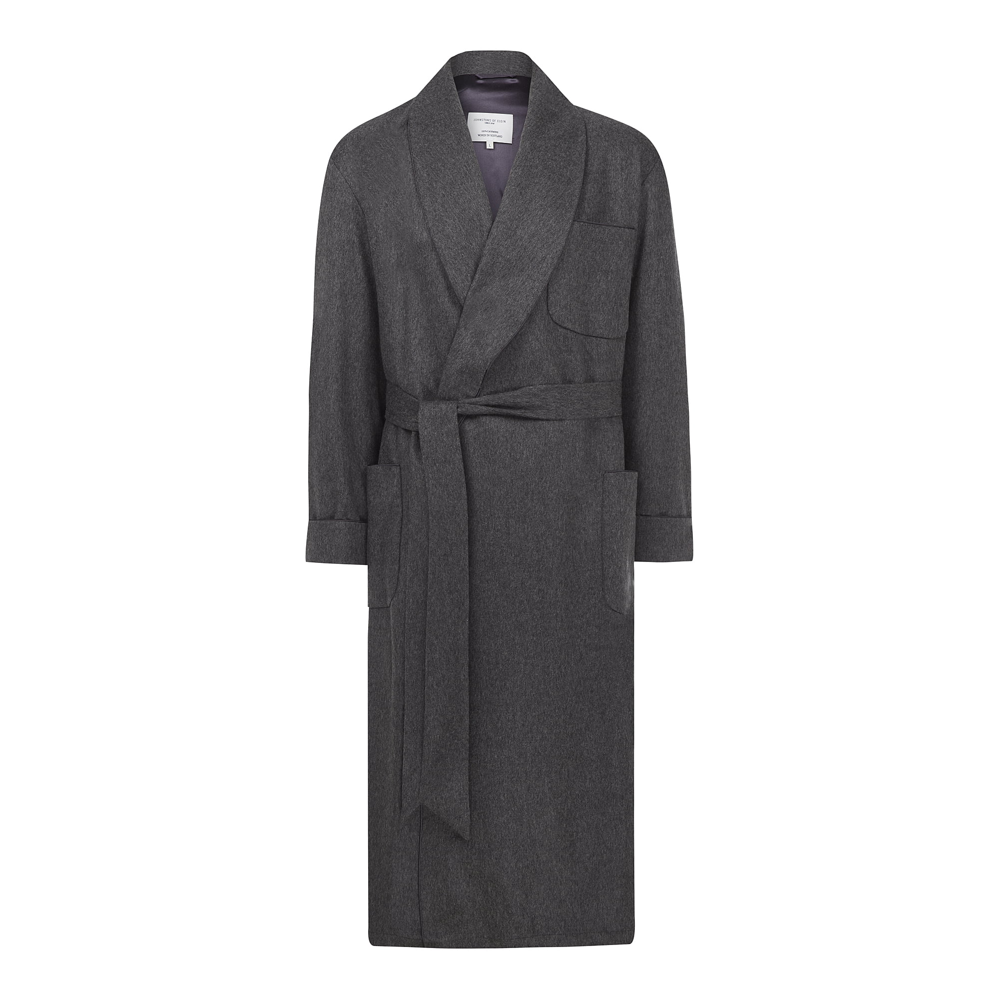 Johnston\'s of Elgin Cashmere Dressing Gown | William & Son