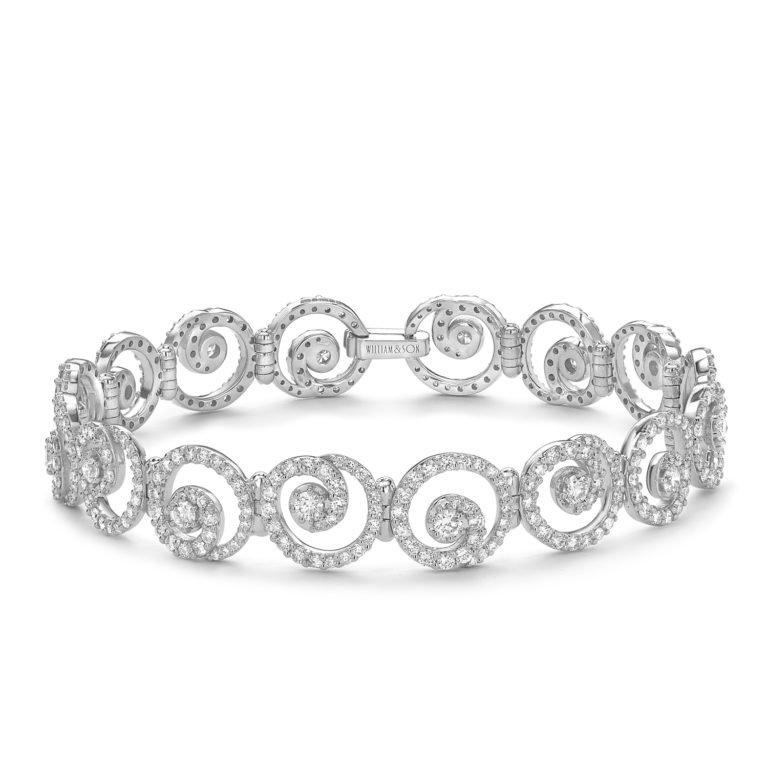 Sweet Pea Diamond Bracelet