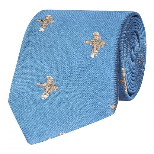 Flying Grouse Silk Tie