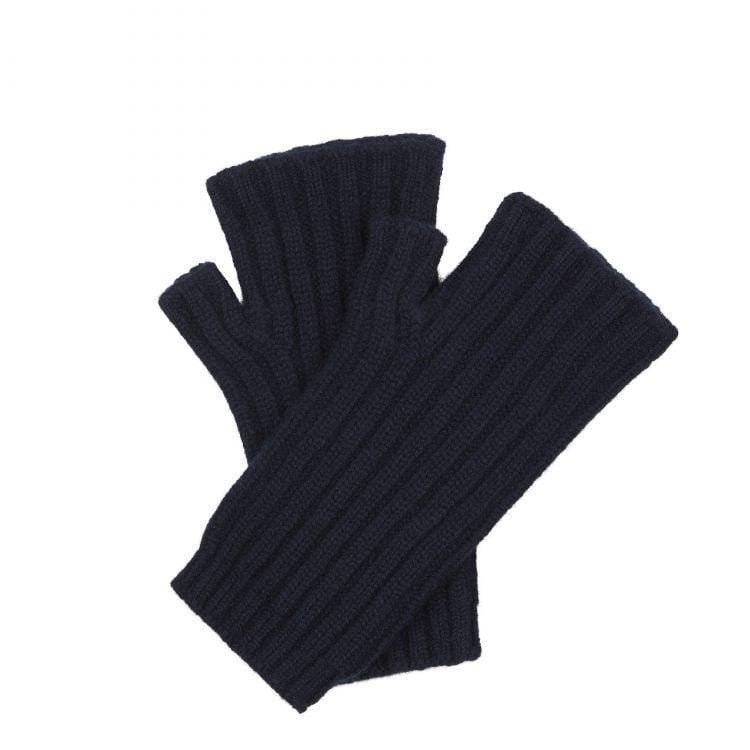 Cashmere Hand Warmer - Nero Navy